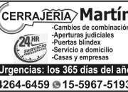 cerrajeria martin +lomas de zamora 24 horas llame al 42646459 el mas economico
