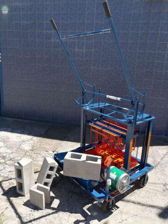 Maquina para hacer block bloqueras jauregui