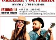 Clases ONLINE de ukelele y guitarra en Mendoza