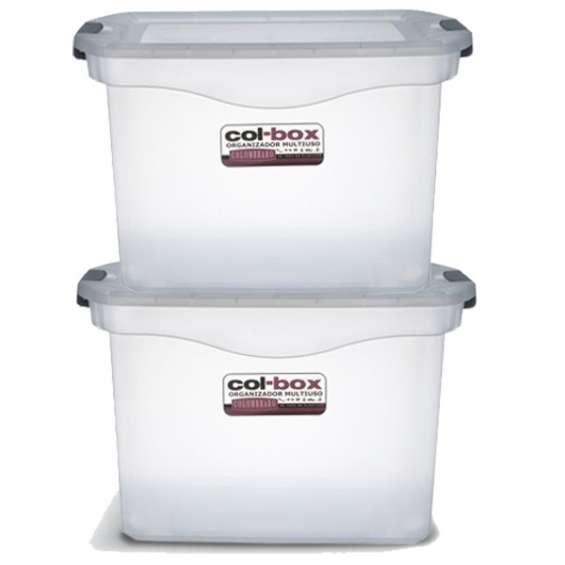 Caja plastica megacol box x 36
